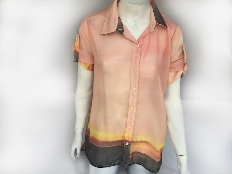 Camisa Voil Degradé - Nova!
