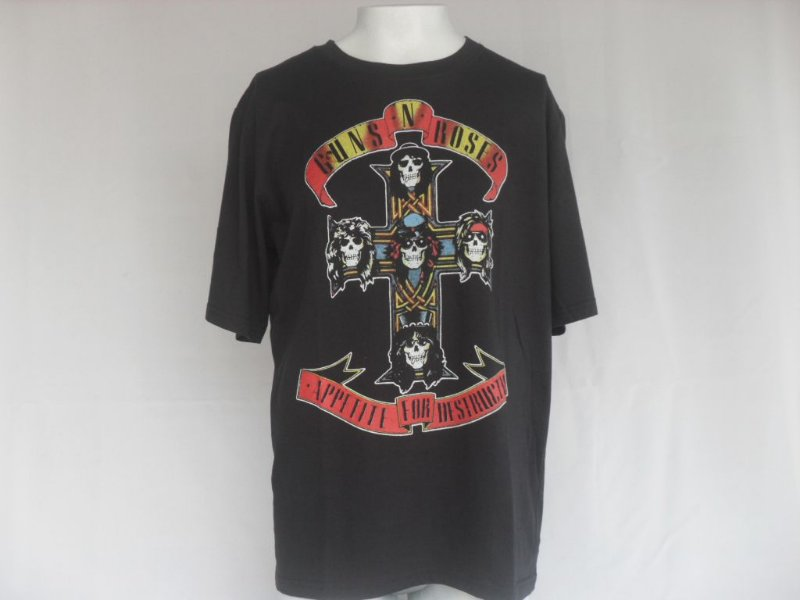 Camiseta Guns N Roses - Nova!