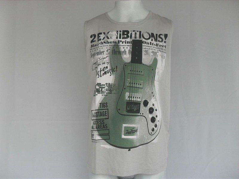 Camiseta Regata Guitarra - Nova!