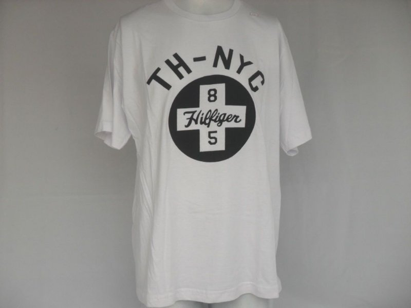 Camiseta Tommy TH-NYC Branca - Nova!
