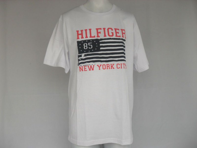Camiseta Tommy Hilfiger 85 Branca - Nova!