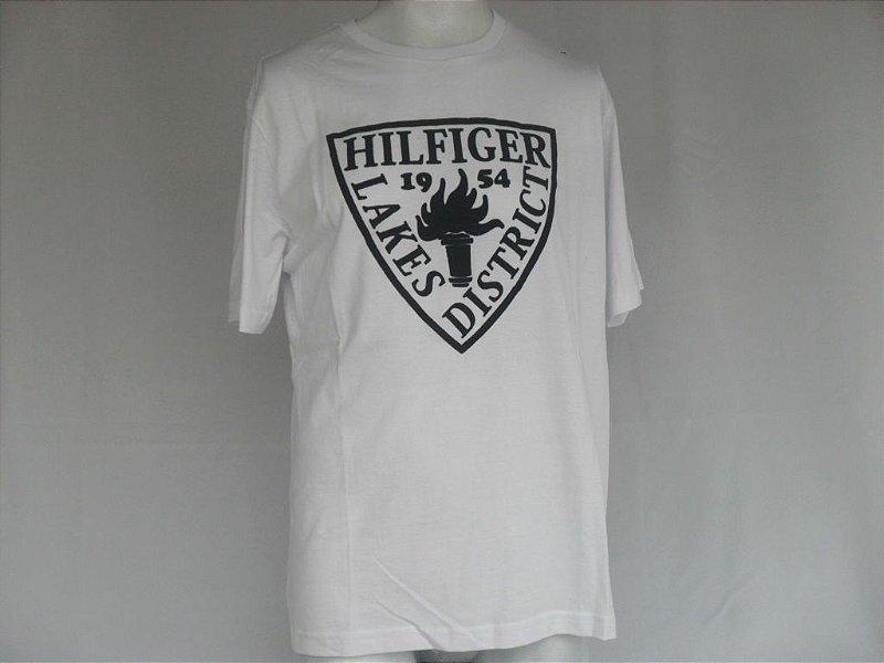 Camiseta Tommy Hilfiger 1954 Branca - Nova!