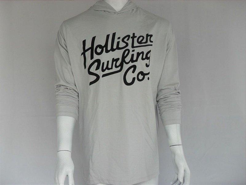 Blusa com Capuz Hollister Surfing - Nova!