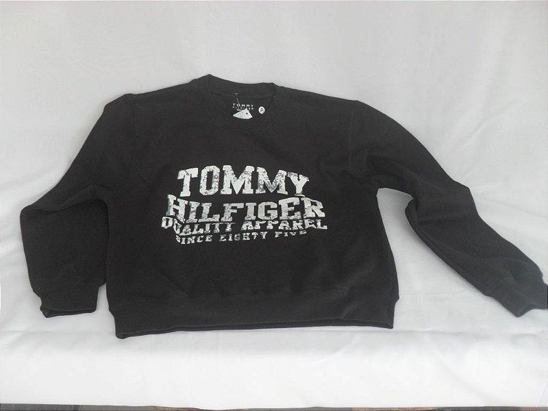 Moletom Tommy Hilfiger Juvenil - Novo!
