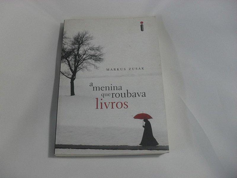 """Livro """"A Menina que Roubava Livros"""" - Usado!"""