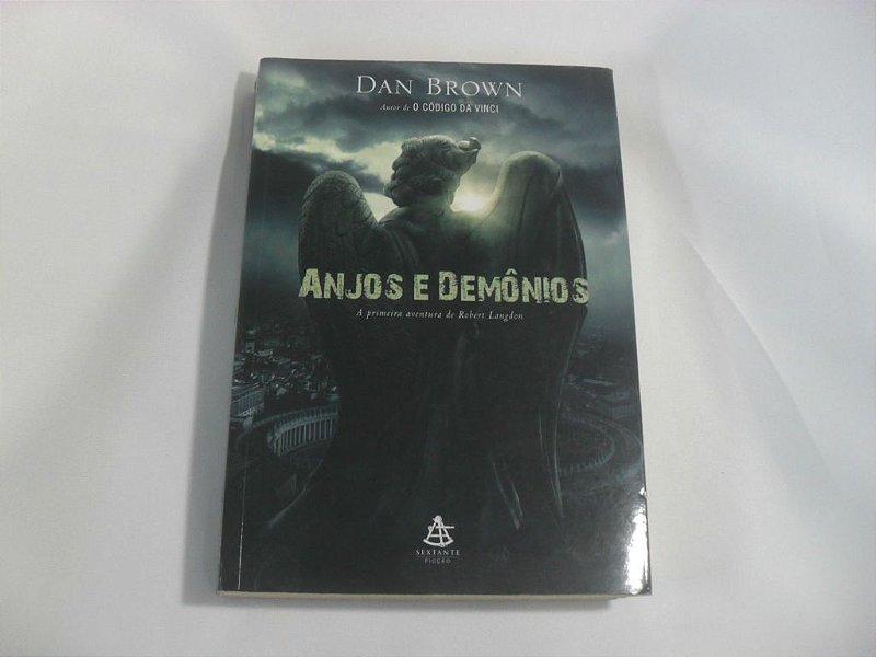 """Livro """"Anjos e Demônios"""" - Usado!"""