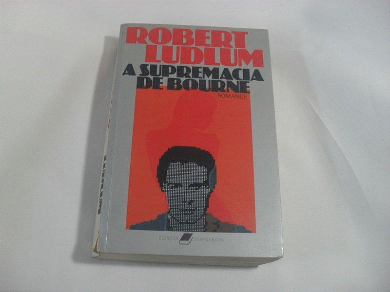 """Livro """"A Supremacia de Bourne"""" - Usado!"""