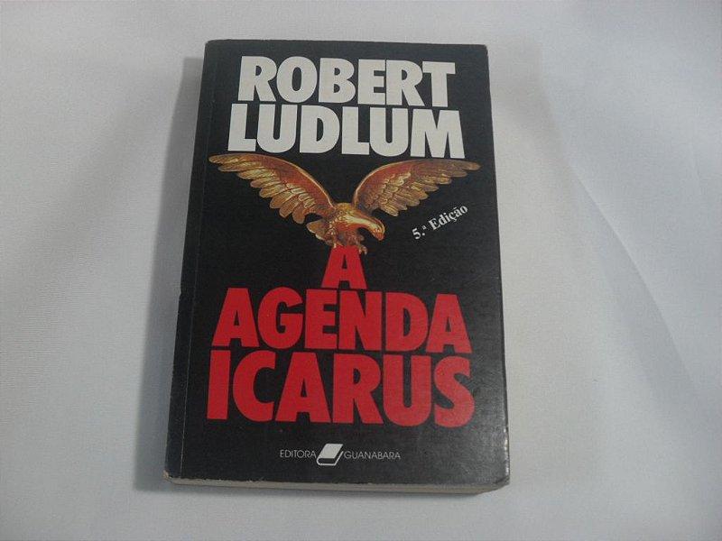 """Livro """"A Agenda Icarus"""" - Usado!"""