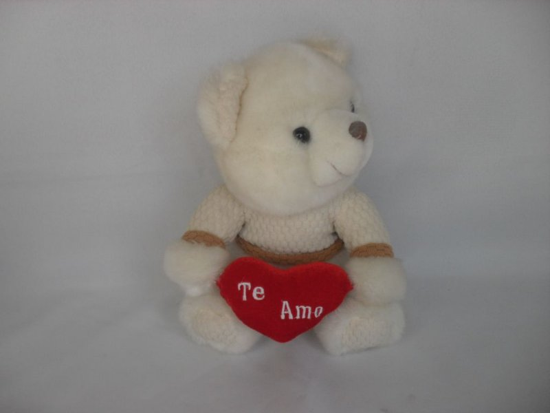 "Urso ""Te Amo"" - Semi Novo!"