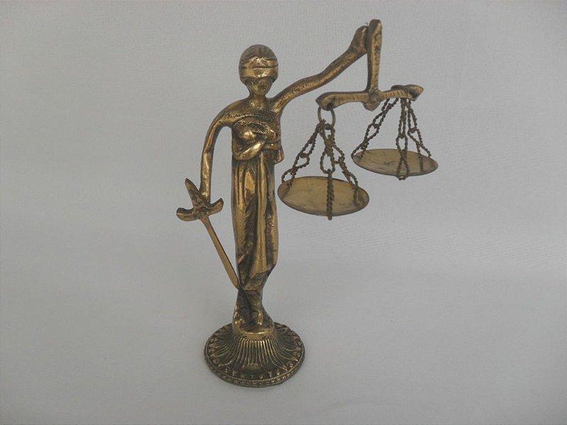 """Escultura """"Deusa da Justiça"""" - Antiga!"""