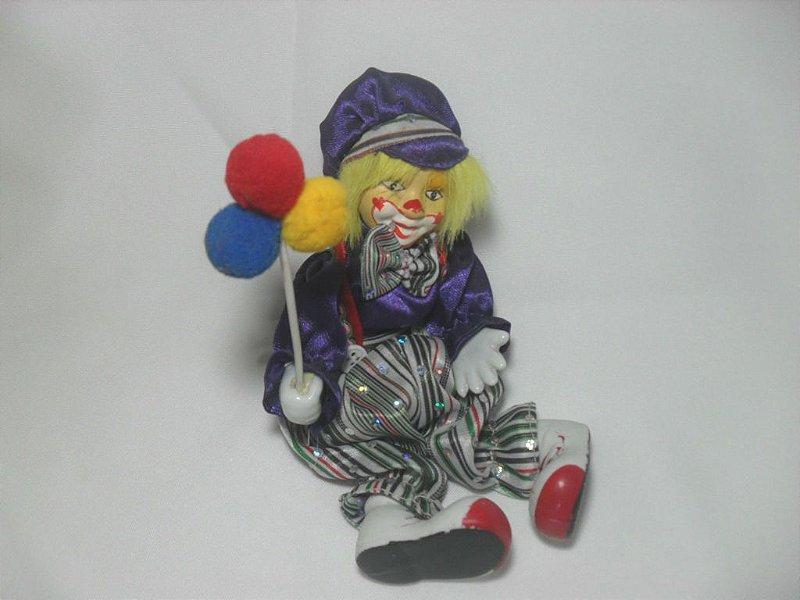 Palhacinho com Balões - Usado!