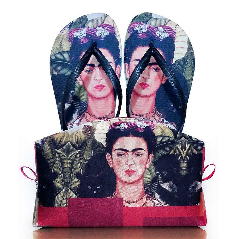 c60a9b0ca Chinelo Frida Kahlo - O Pequeno Sonhador | Loja Virtual