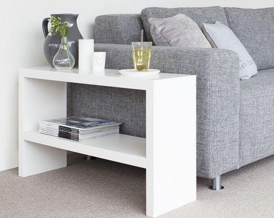 Mesa lateral para sof mdf decora es - Mesas para sofa ...