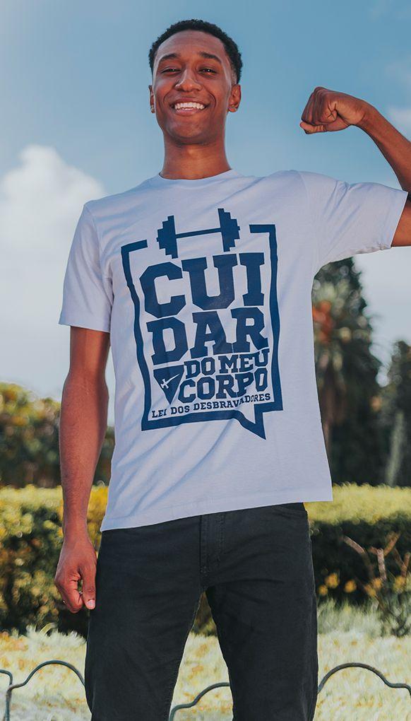 """Camiseta """"CUIDAR DE MEU CORPO"""""""