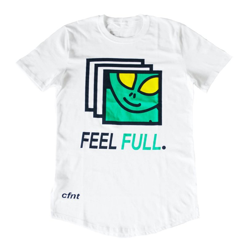 Feel Full White