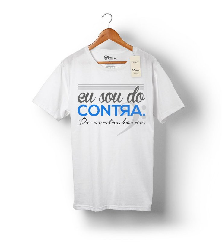 Camiseta – Sou do contra – Branca