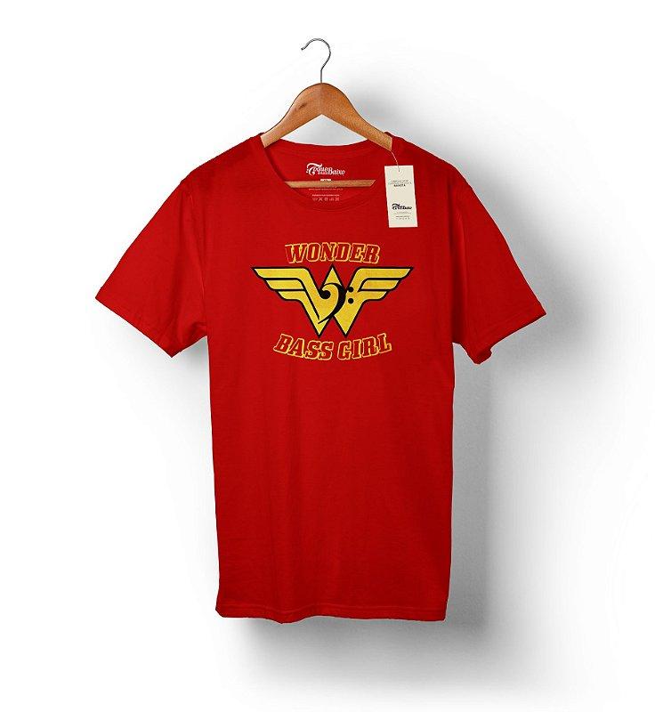 Camiseta – Wonder Bass Girl