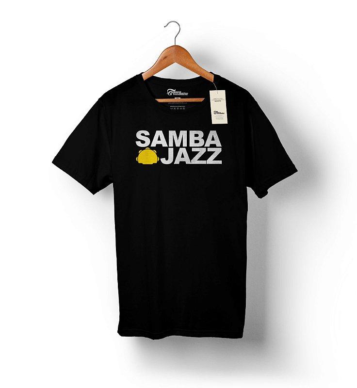 Camiseta – Samba Jazz – Preta
