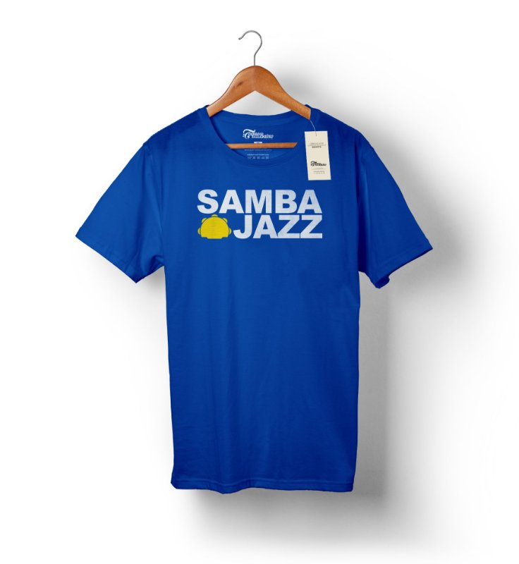 Camiseta – Samba Jazz – Azul Royal