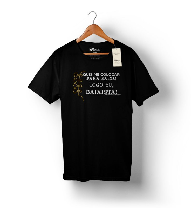 Camiseta – Logo Eu – Preta