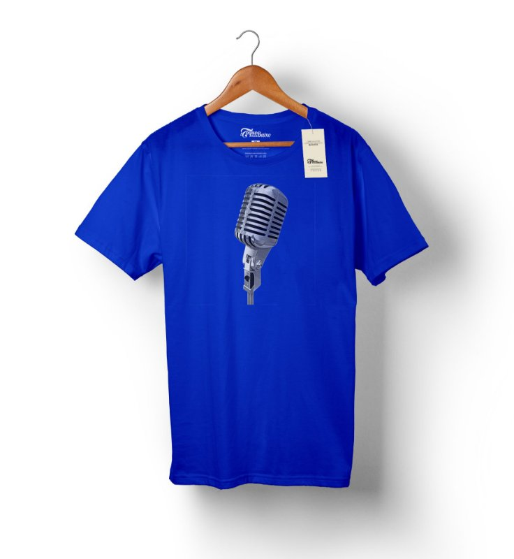 Camiseta – Vocalista 2 – Azul Royal