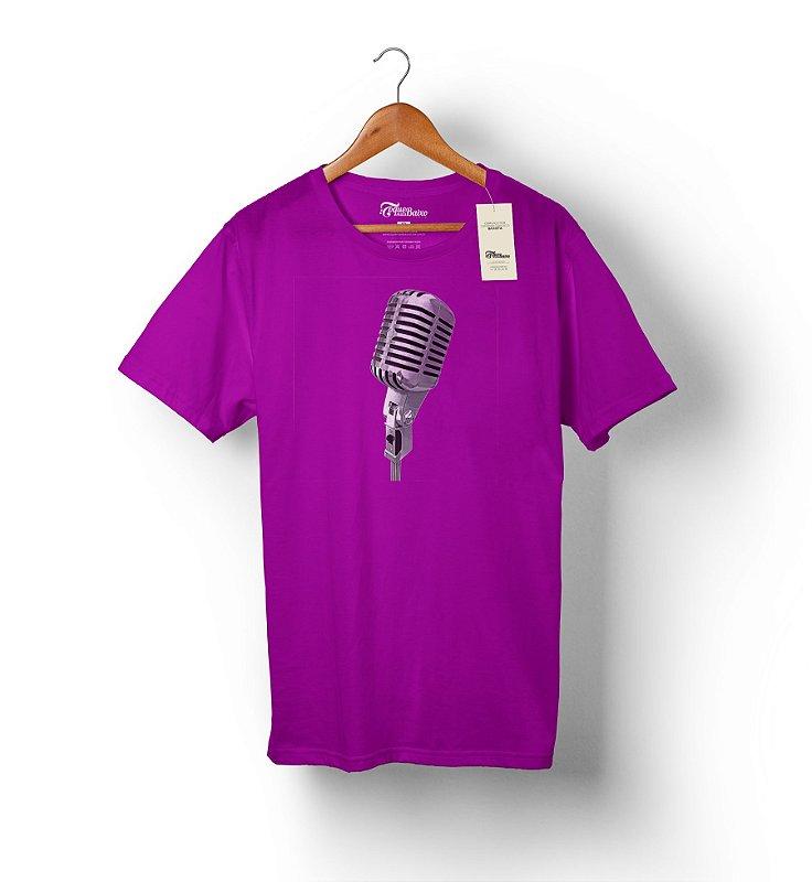 Camiseta – Vocalista 2 – Roxa