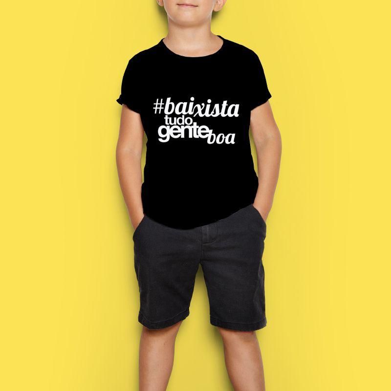 Camiseta Kids - Baixista Tudo Gente Boa