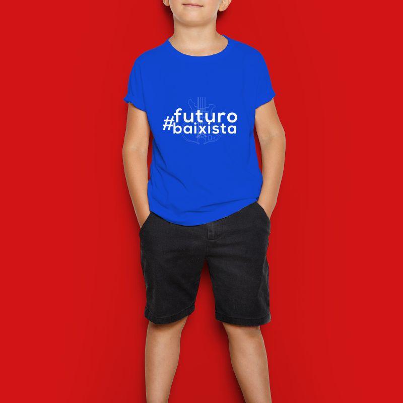 Camiseta Kids - Futuro Baixista