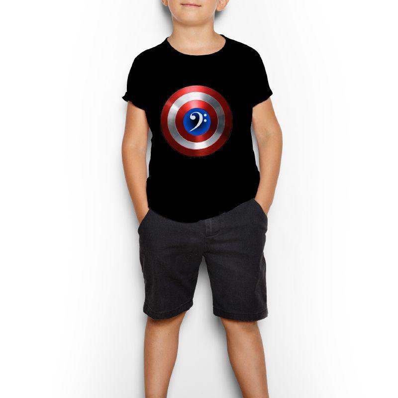 Camiseta Kids - Capitão América