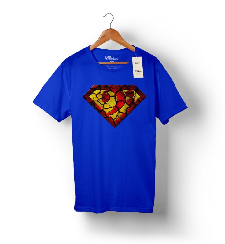 Camiseta – Super Bass - Azul Royal