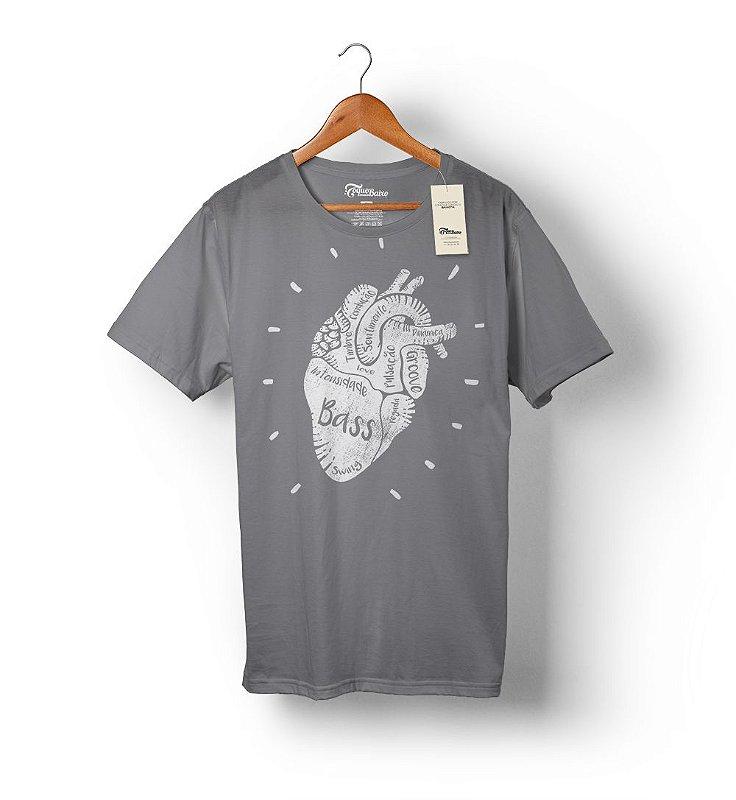 Camiseta Bass Heart