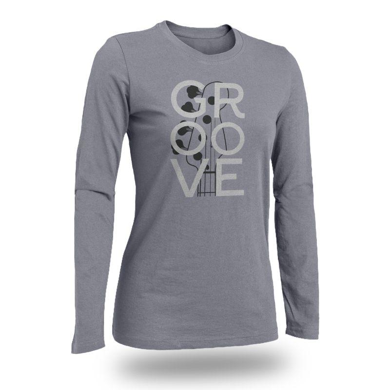 Camiseta - GROOVE - Manga Longa