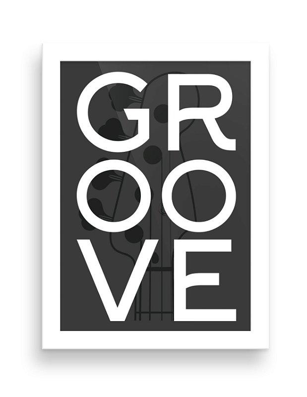 Quadro - Groove 1 - 20 X 30 cm