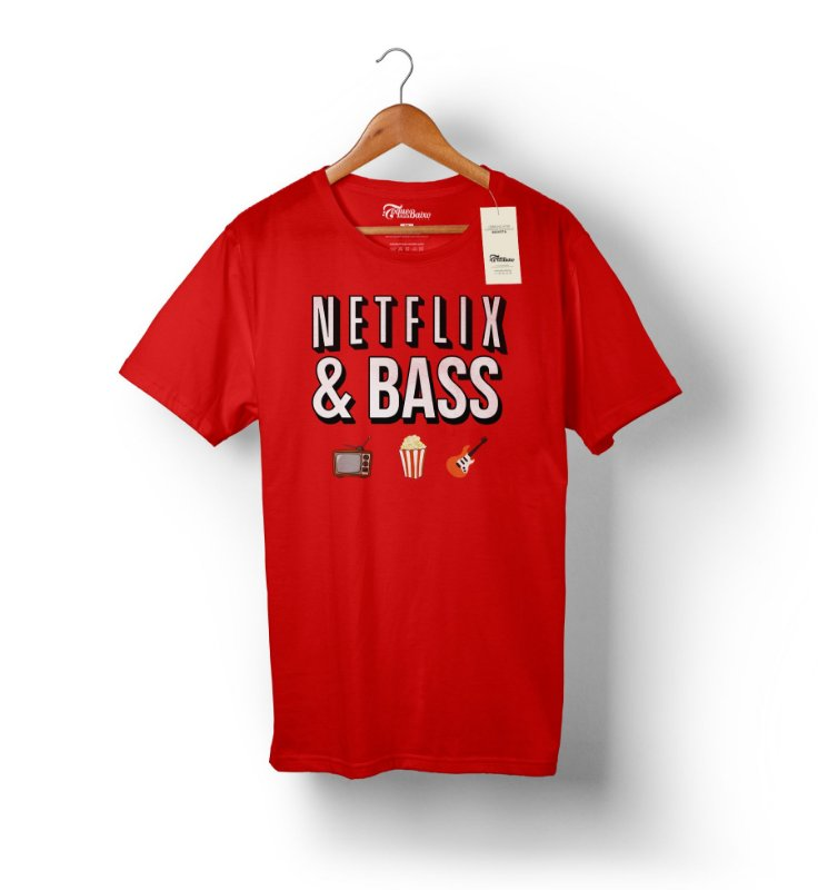 Camiseta – Netflix & Bass