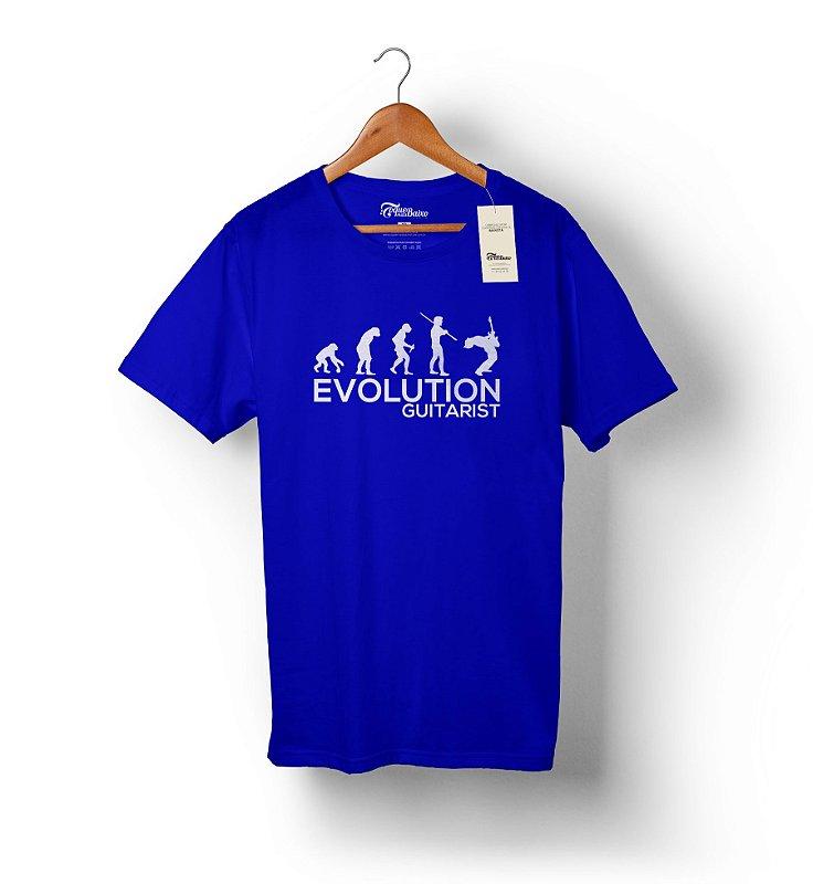 Camiseta Evolution Guitarist