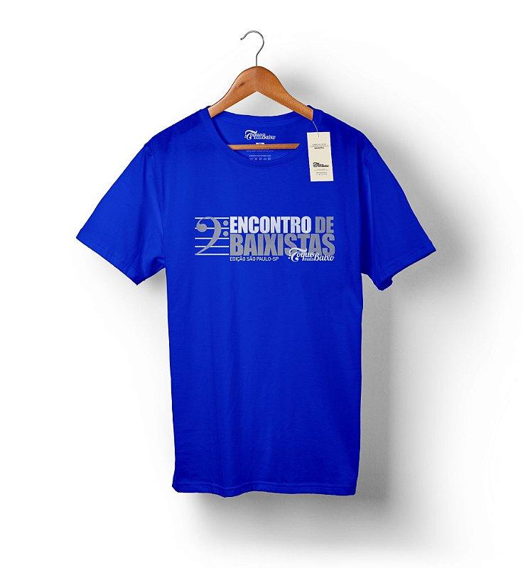 Camiseta Encontro de Baixistas - São Paulo