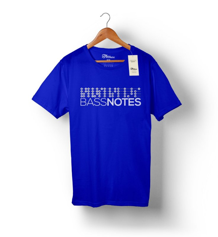 Camiseta Bass Notes