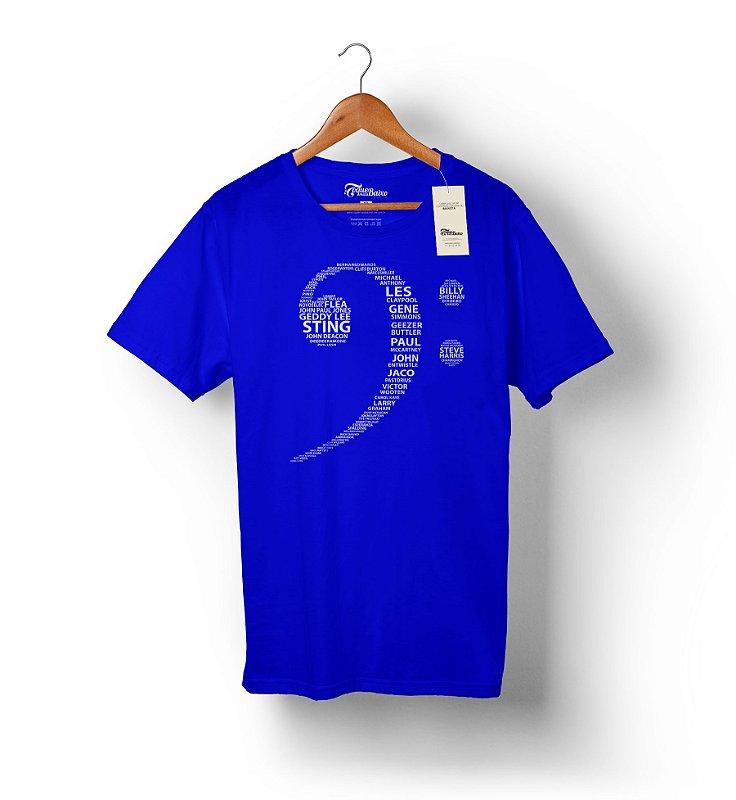 Camiseta Baixista Sincero - Clave de Fá