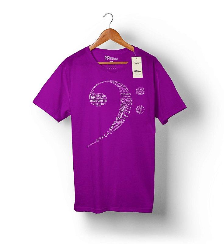 Camiseta Clave de Fá Gospel