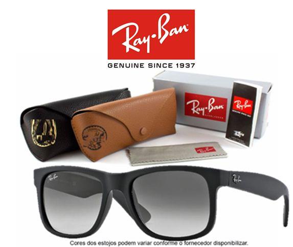 Oculos de Sol Masculino E Feminino B2140 Wayfarer Importado Kit Completo c30d6c6e58