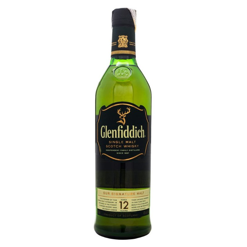 Glenfiddich 12 Anos Single Malt Scotch Whisky 750ml