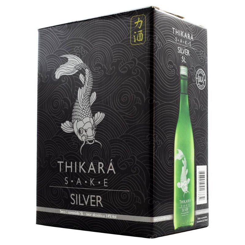 Sake Thikará Silver Bag-in-Box 5L