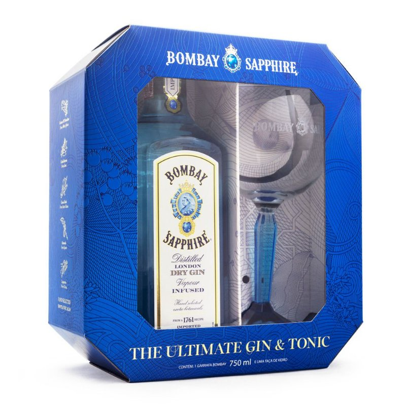 Bombay Sapphire The Ultimate Gin & Tonic Kit