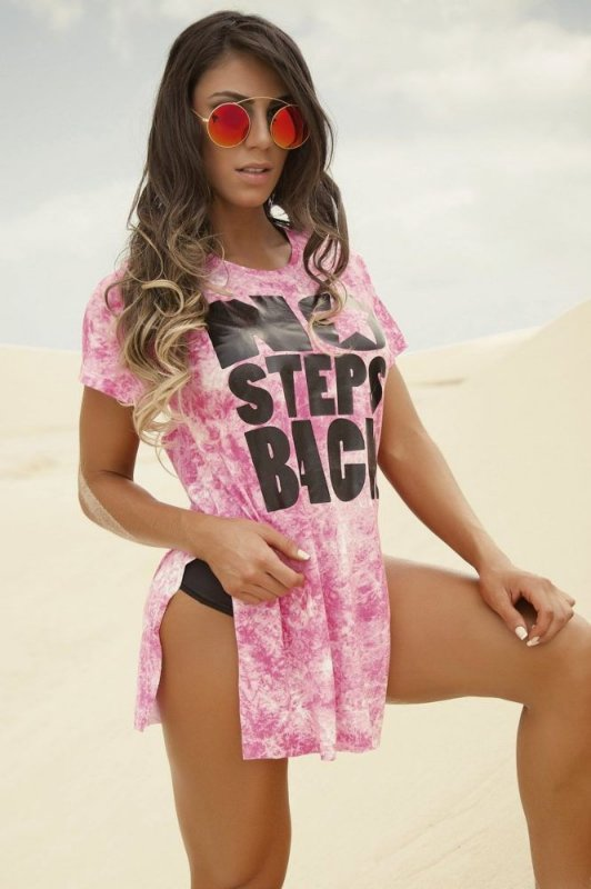 Blusa No Steps Pink Superhot