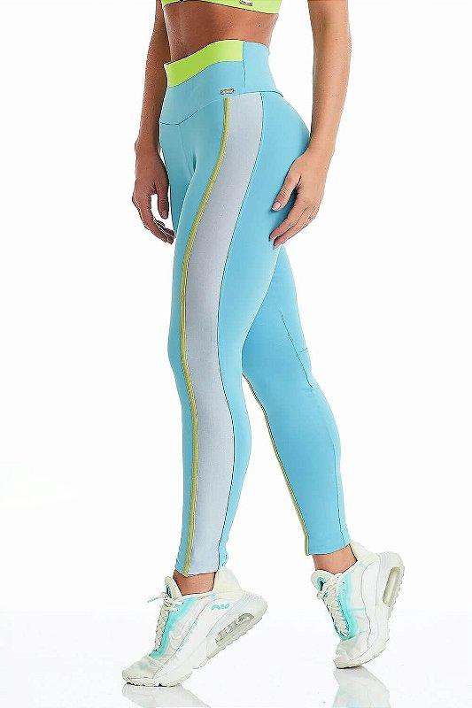Legging Cajubrasil NZ Flow Azul