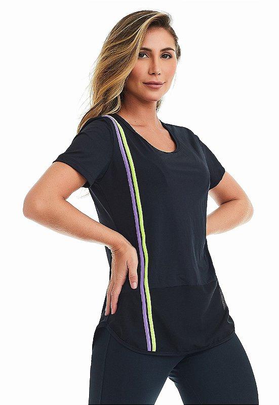 T-Shirt Cajubrasil Good Vibes Preto