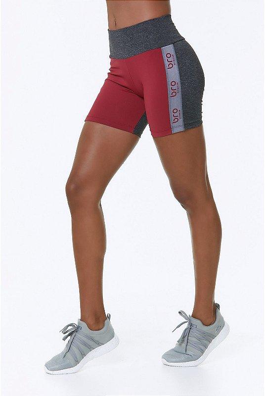 Shorts BRO Rouge