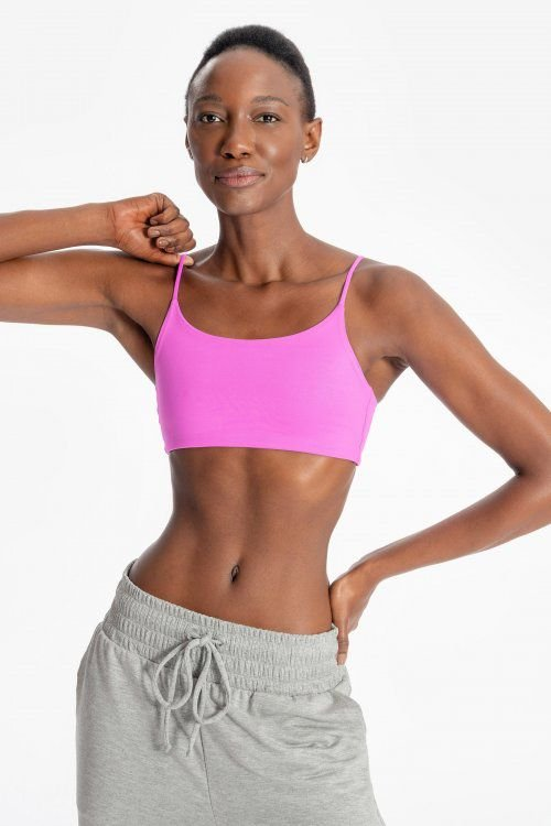 Top LIVE! Body Curve Essential Cyber Pink