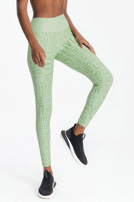 Legging LIVE! Essential Eco Green