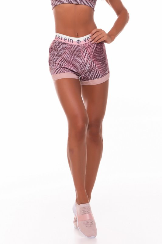 Shorts Vestem Toronto Etnico Nude Rose